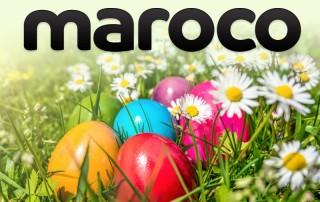 Maroco vă urează un Paște fericit!