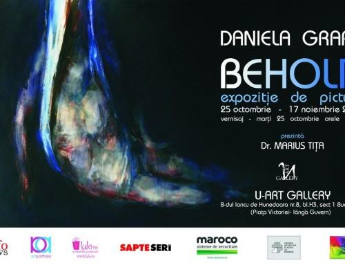 Maroco sprijină expoziția de pictură BEHOLD a artistei ieșene Daniela Grapă