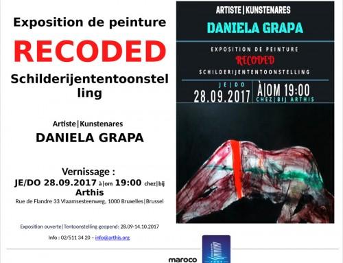 Maroco sprijină expoziția RECODED a artistei Daniela Grapă