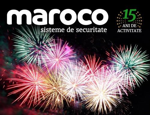 Martie 2019: MAROCO împlinește 15 ani de activitate!