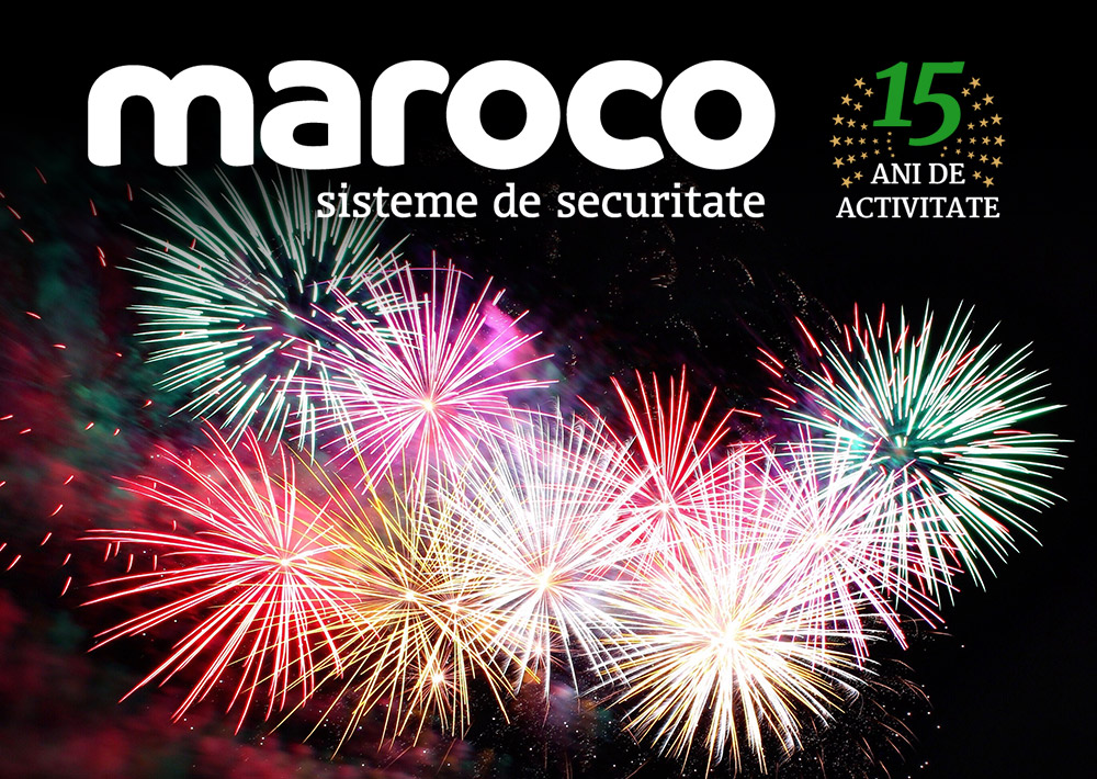 Maroco împlinește 15 ani de activitate!